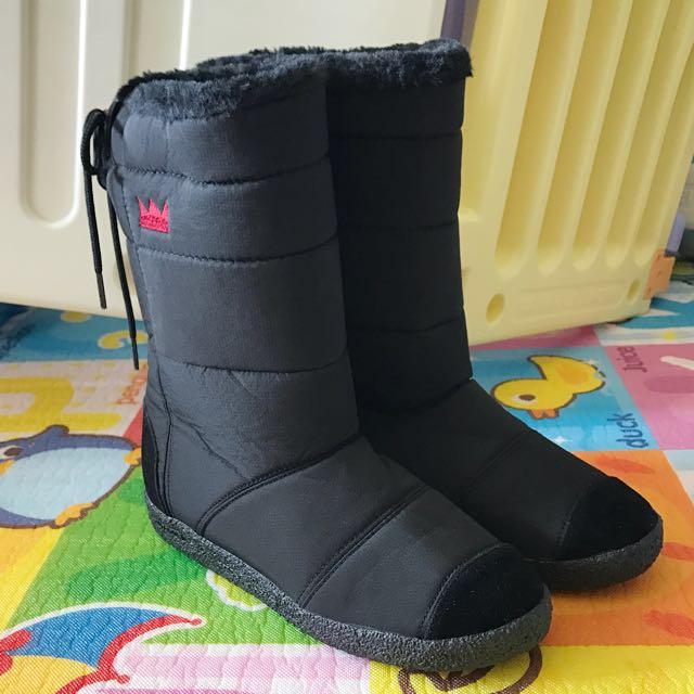 韓國雪靴(黑)