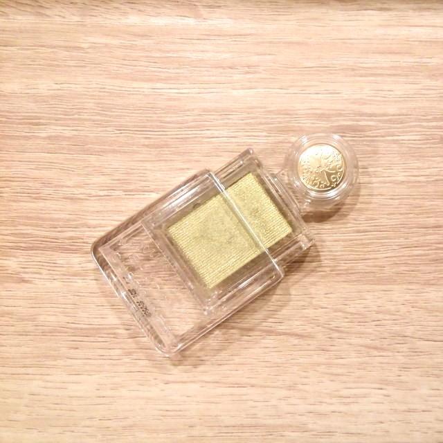 資生堂戀愛魔鏡眼影.黃綠色 1g #週慶