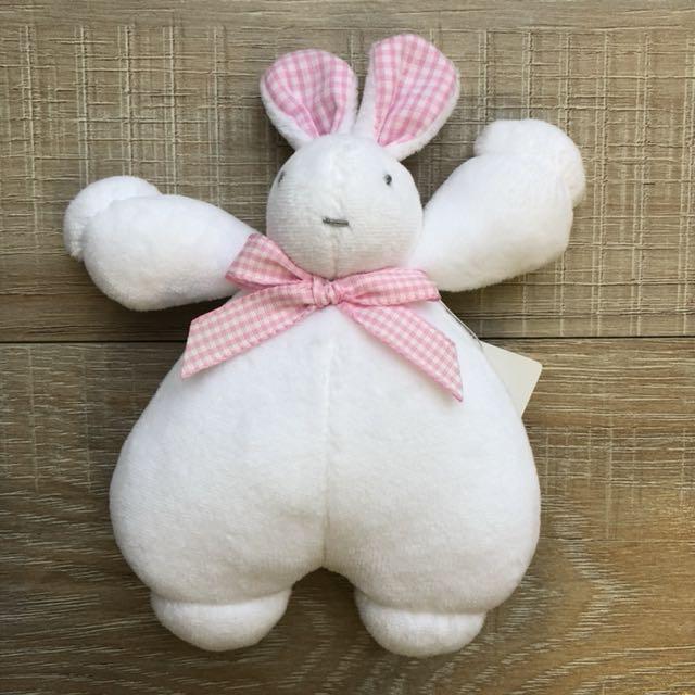 奇哥 小白兔安撫玩具
