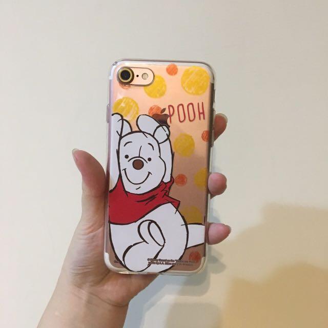 小熊維尼 i7手機殼 軟殼