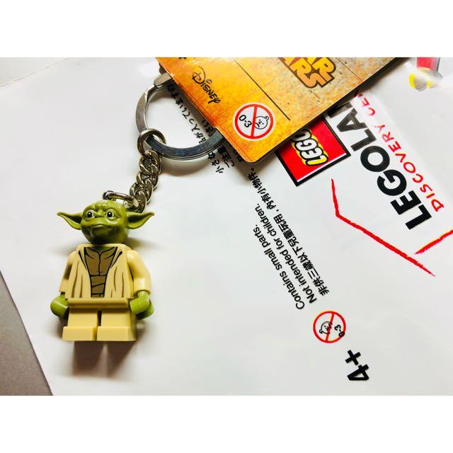 全新 LEGO 尤達 鑰匙圈
