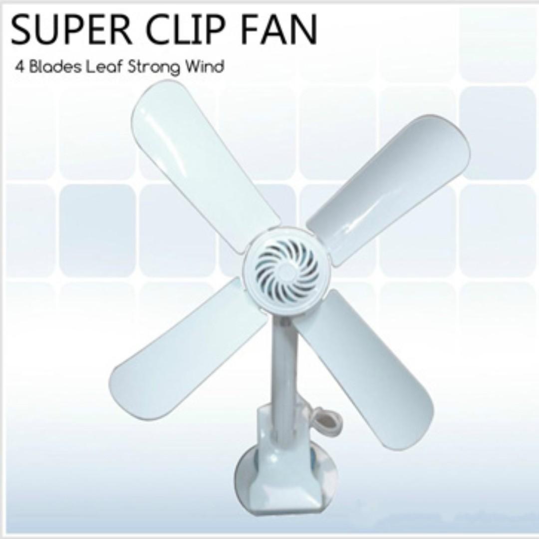 🔥 Super Clip Fan 4blade Dual Angle Adjustment