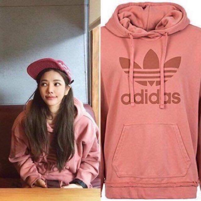 日本代購-Adidas乾燥玫瑰色三葉帽踢(預購)