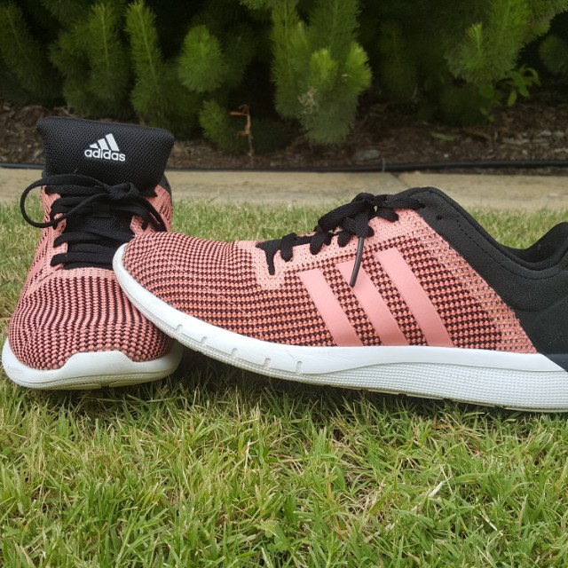 Adidas Pink & Black Climacool Runners 8US Lightweight