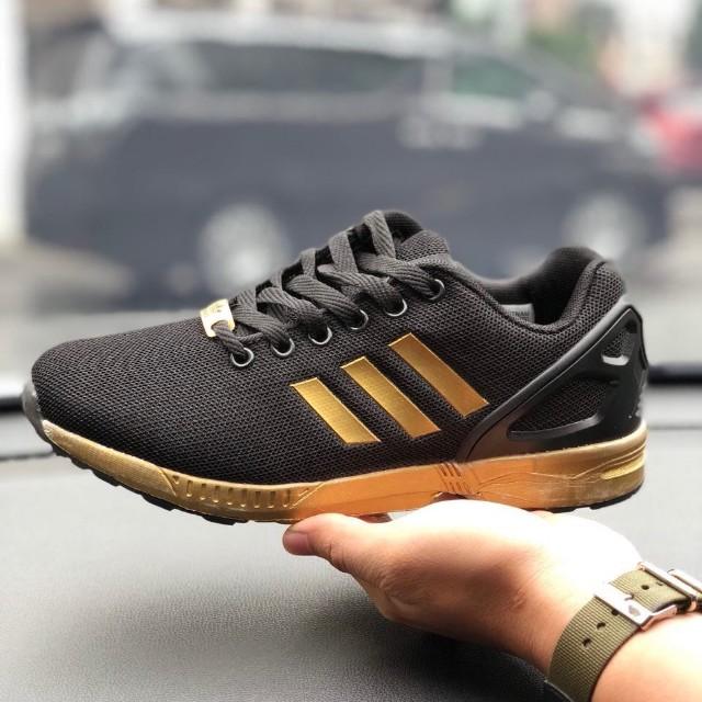 24c1a8eabbe76 43c1b a9237  get adidas zx flux gold mens fashion footwear on carousell  efc95 35349