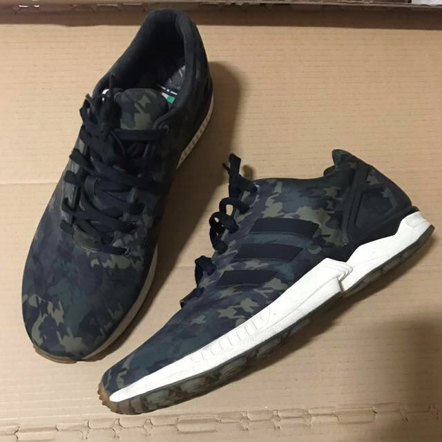 b7ed0d02ea673 ... top quality adidas zx flux italia independent houndstooth camo mens  fashion footwear sneakers on carousell 3a574