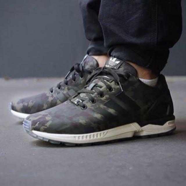Adidas ZX Flux Italia Independent Houndstooth Camo, Men's