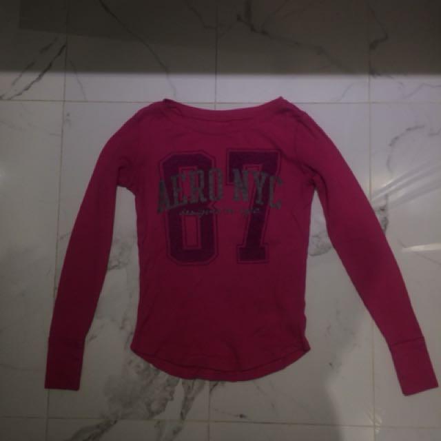 Aeropostale pink top