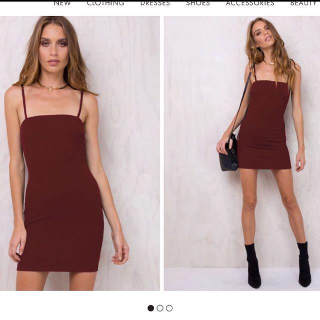 Alivegirl mini bodycon dress