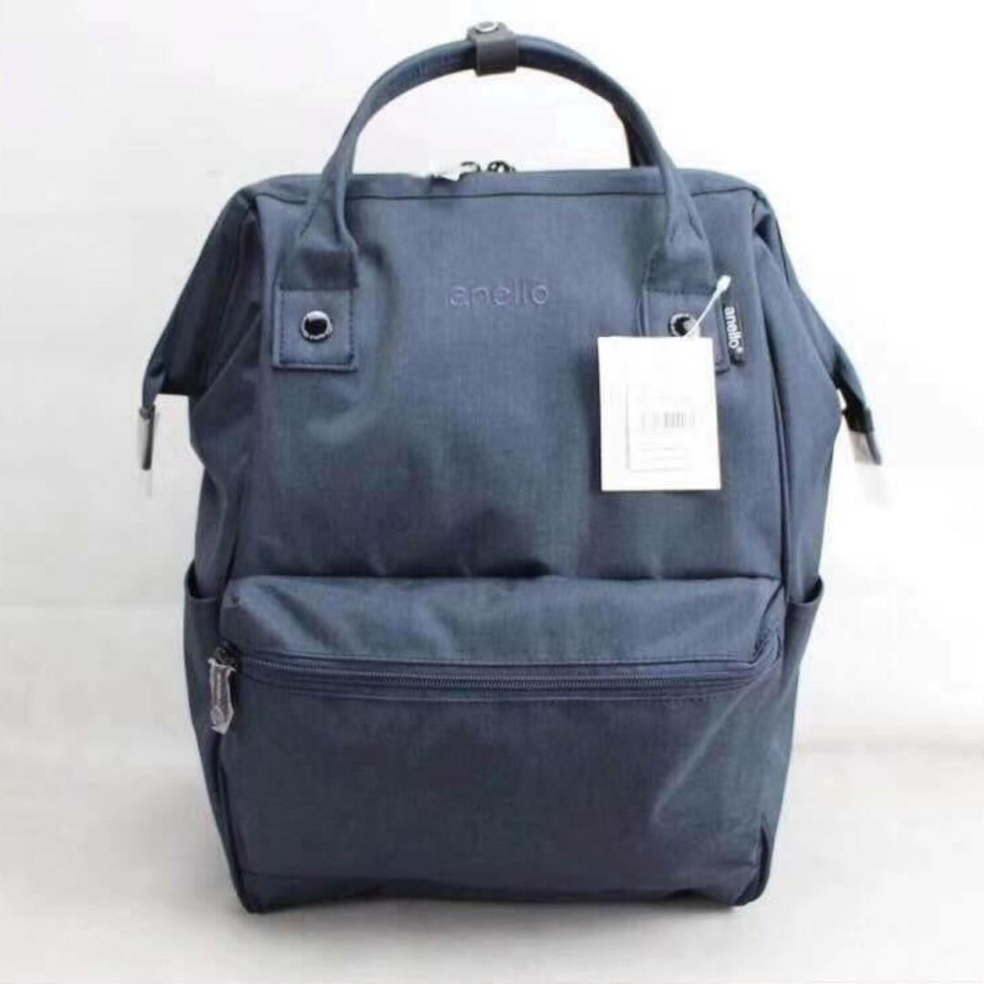 Anello Mottled Backpack - Navy Blue