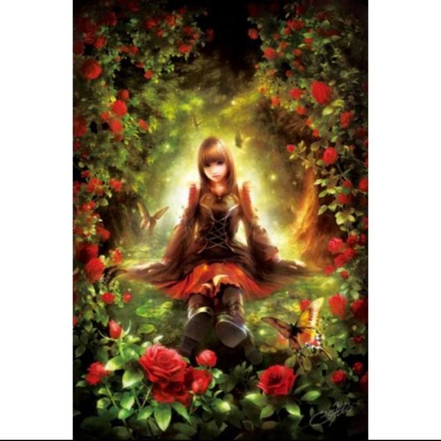 〝新品〞【拼圖】日本Appleone - 哥德少女薔薇Arcana Rose (溝口周一SHU作品) 1000pcs夜光