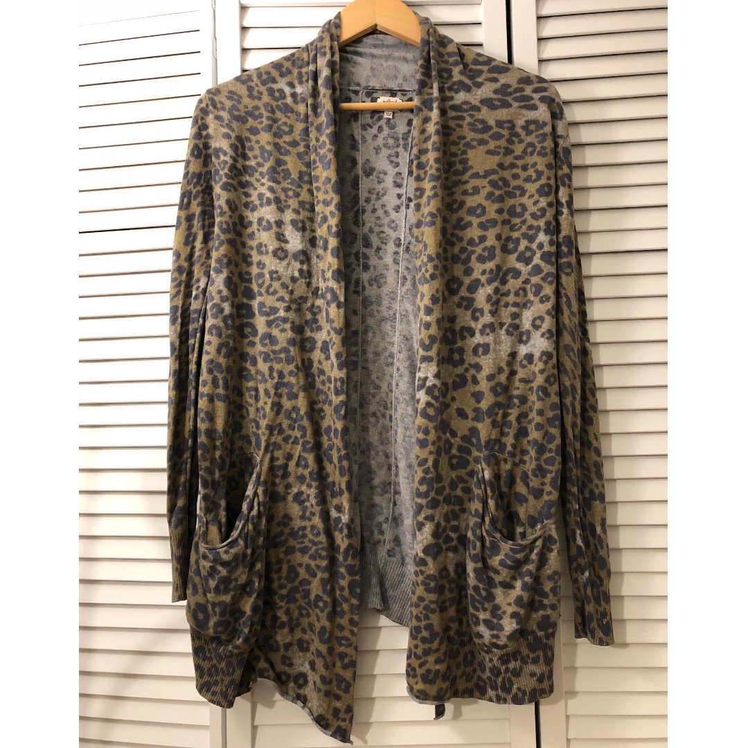 ARITZIA Wilfred Olive/Grey Cashmere and Silk Sweater - Size XS - RETAIL: $145