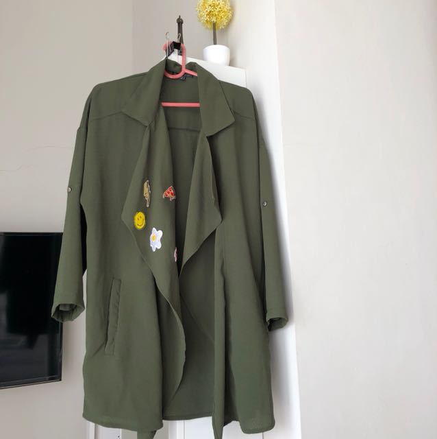 Army embroidered outer