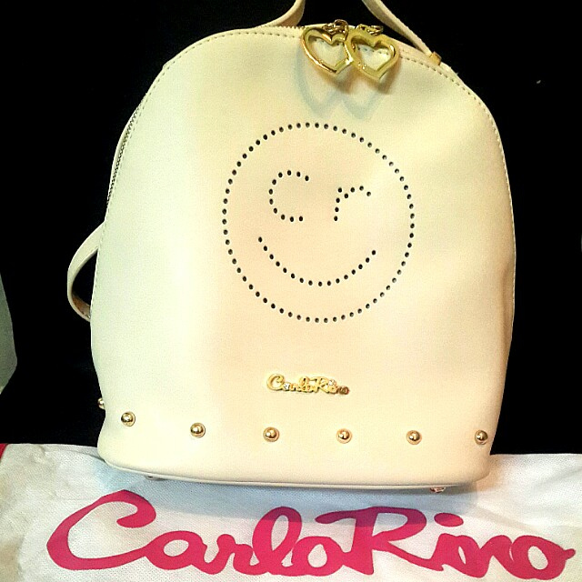 Authentic Carlo Rino Bag Pack