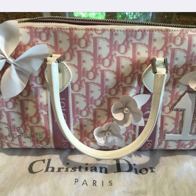 AUTHENTIC CHRISTIAN DIOR BAG with Matching Wallet