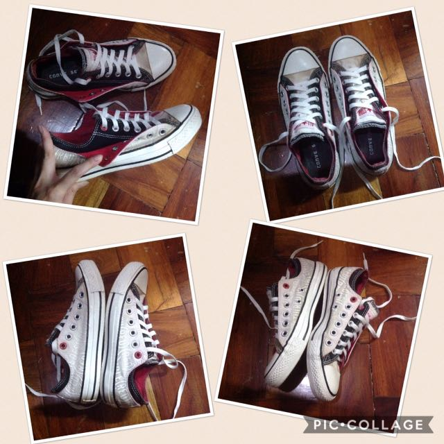 Authentic Converse Limited Edition RED Sneakers Shoes