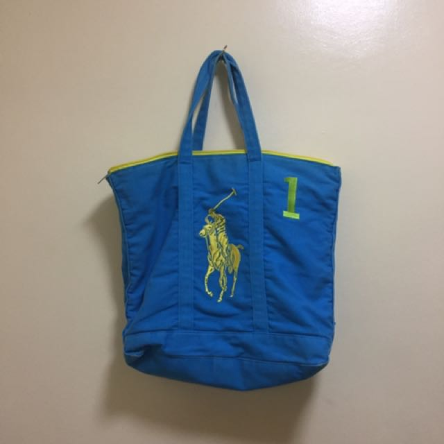 Authentic Ralph lauren tote bag
