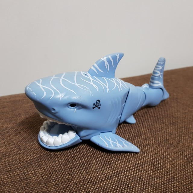 Baby Bkue Shark (Articulated) Free-Wheel with Moving Tail by Mattel