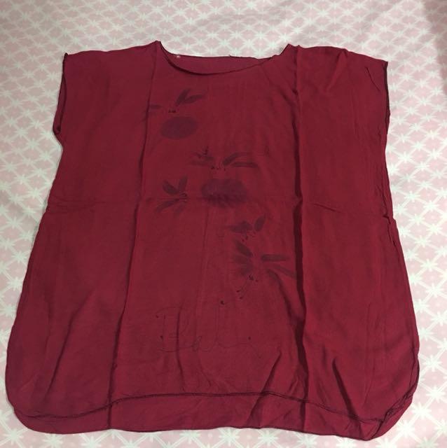 Baju bali merah