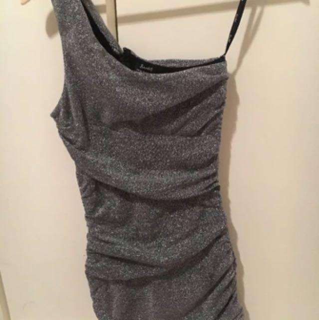 Bardot Mesh glitter sparkle dress size 8