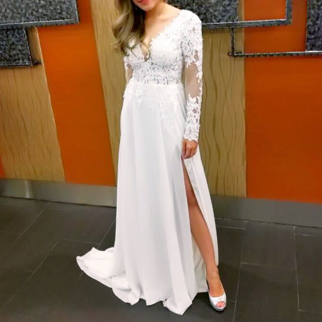 Berta inspired wedding gown