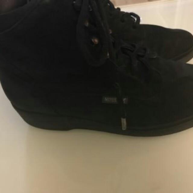 black mephisto boots size 7