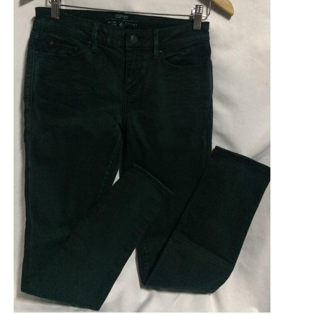 Bnew ESPRIT Medium-rise Skinny Long Pants (Authentic)