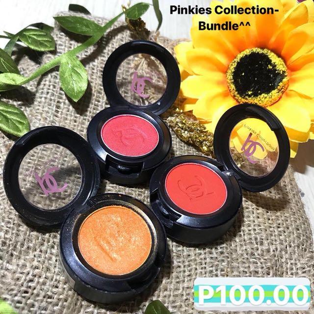Bobbie Cosmetics Eyeshadow Singles Bundle