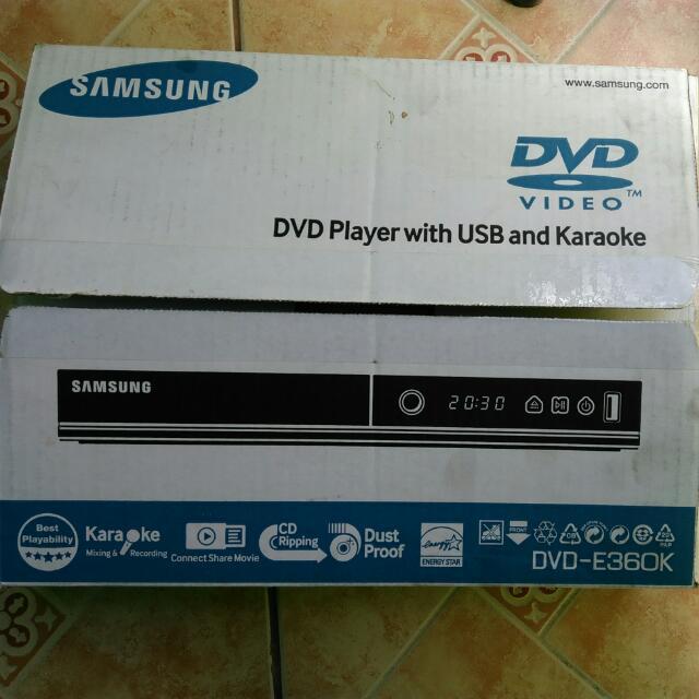 Brand New Samsung DVD E360K