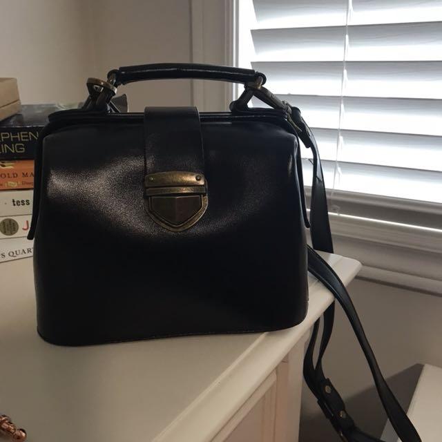 Briefcase style mini bag