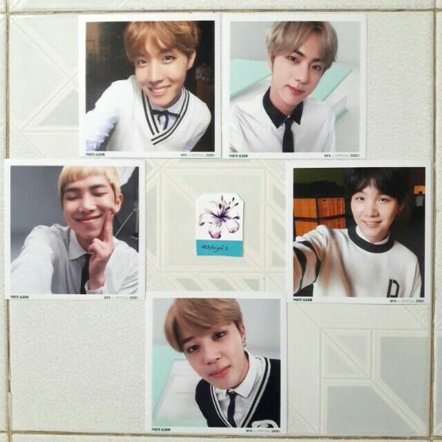 BTS 3rd MUSTER ticket album polaroid