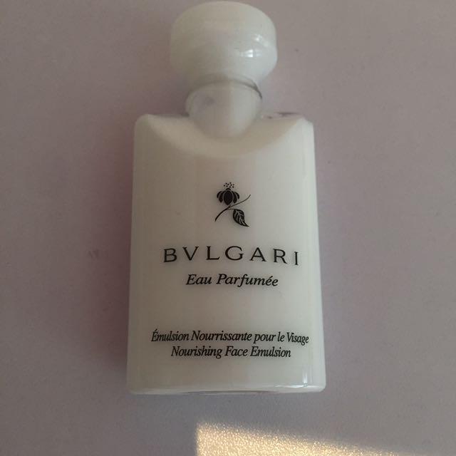 Bvlgari face emulsion