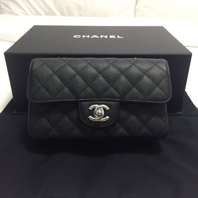 2e583bcbdcfb Chanel Mini Quilted Classic Flap Bag