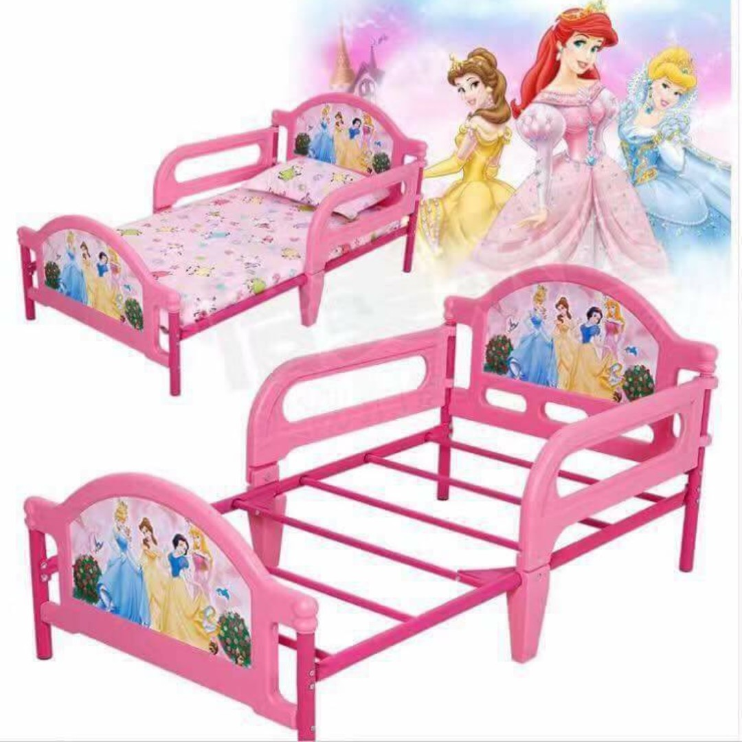 Character Bed Frame for Kids (Disney Price, Spiderman, Hello Kitty, Mcqueen)