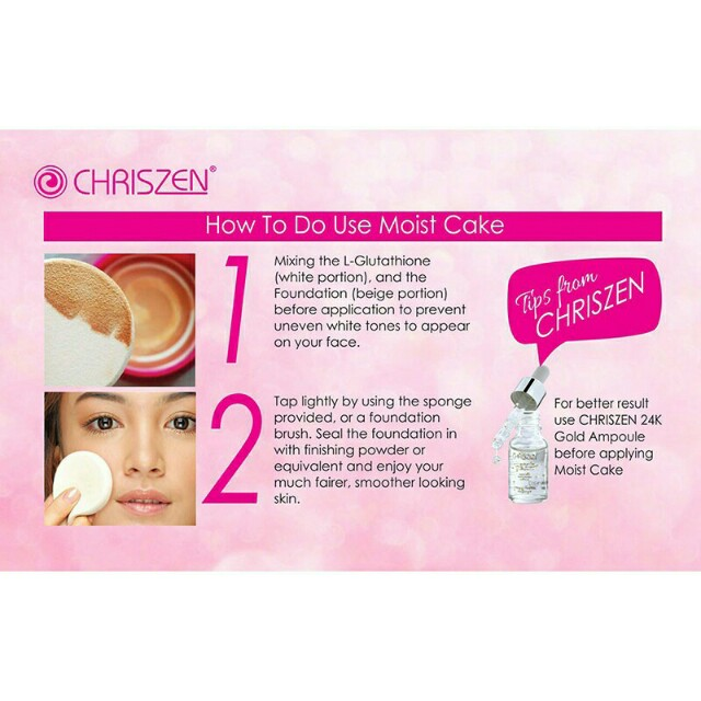 CHRISZEN MOIST CAKE +FREE SERUM