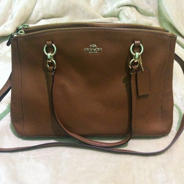 Coach Christie Carryall in Crossgrain Leather (REPRICED)