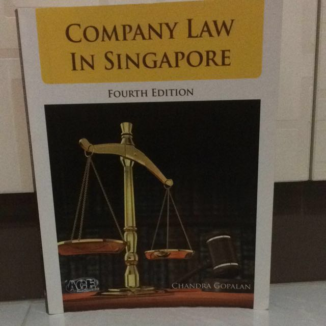 Company Law In Singapore