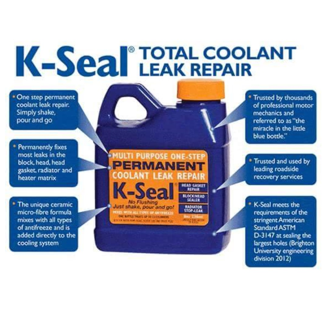 Stop Leak * Kseal Coolant Leak Repair, Car Accessories on