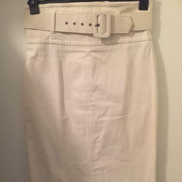 Cue high waist Sz 10 Pencil Skirt