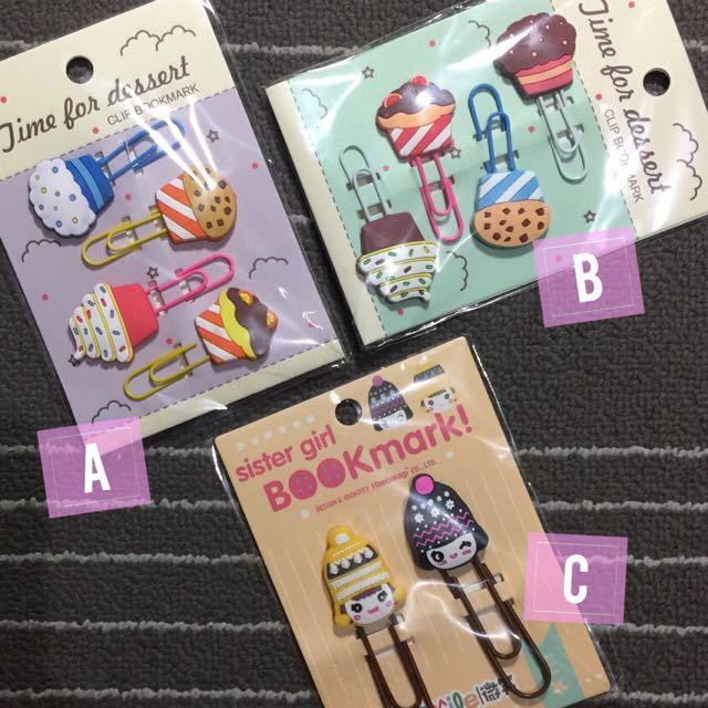 Cupcake Bookmarks