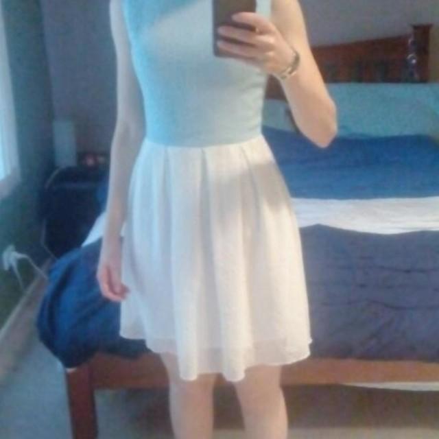 Cute chiffon dress size 6 / xs