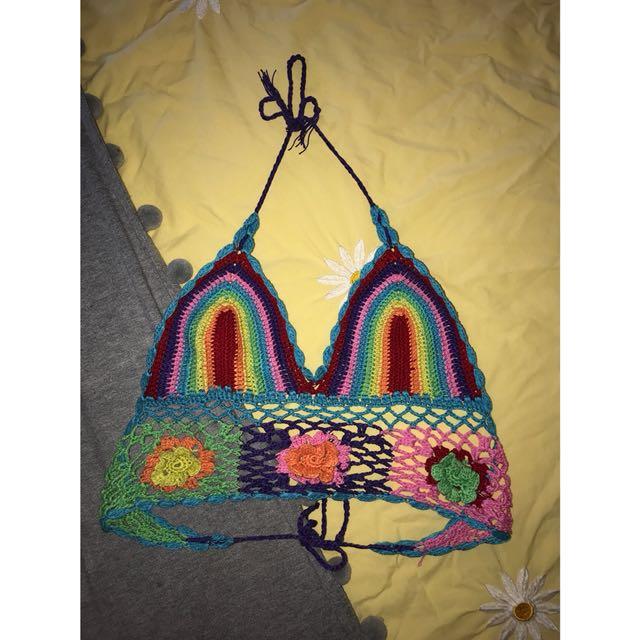 ✨Cute crochet top