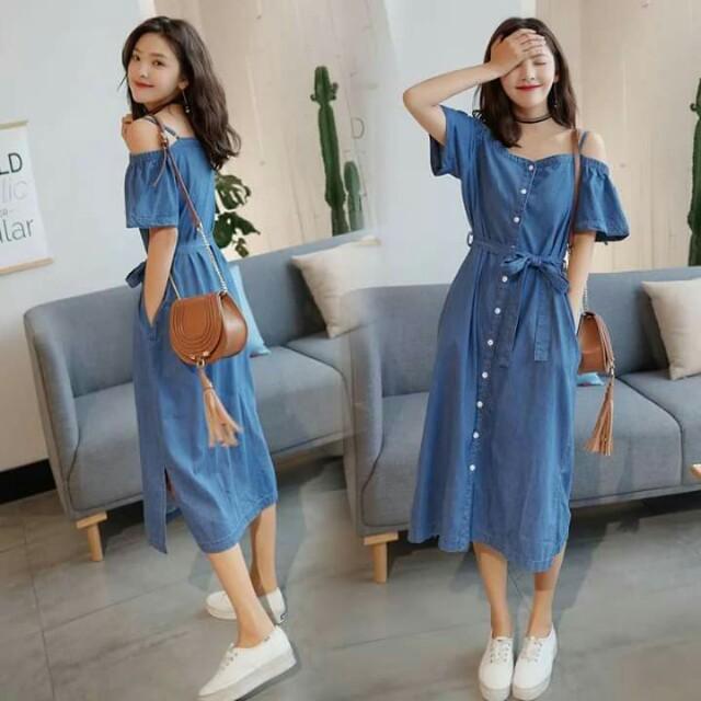 Denim dress/yur