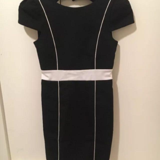 Designer Rosemin black dress size 1 Originally $499