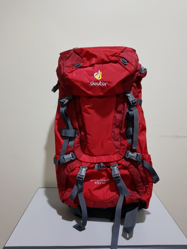 Deuter Air Contact 45+10 trekking back pack