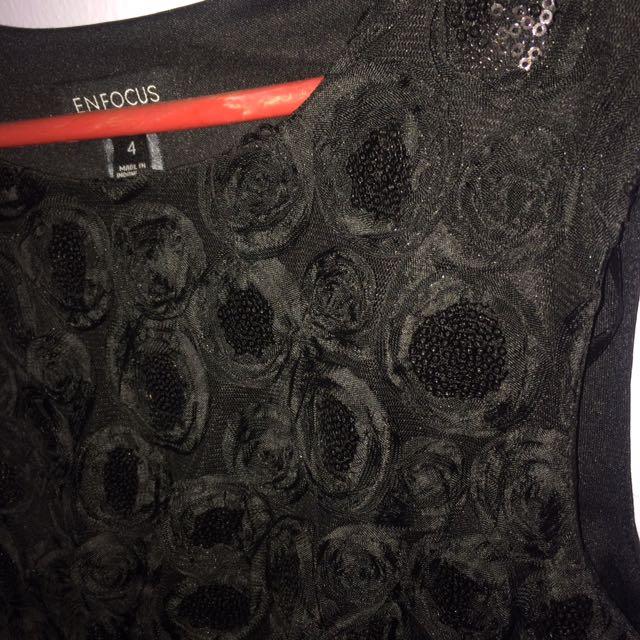 DRESS BLACK BY ENFOCUS STUDIO