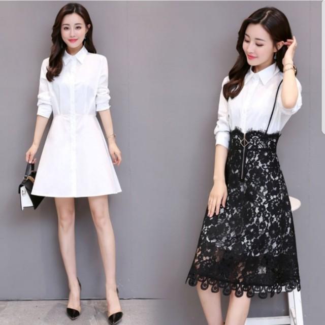 Dress wanita (A-line Cut)