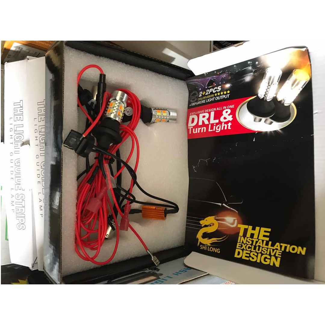 Dual Color Switchback Led Turn Signal Light With Drl Function Kit Switch Back Wiring Photo