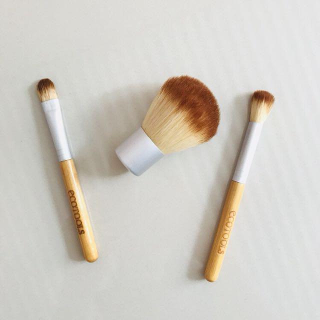 Ecotools Travel Brush set