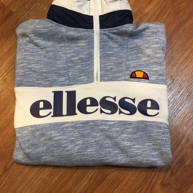 Ellesse 義大利品牌 長袖上衣 衛衣 大學t 連帽 衝鋒外套 拉鍊